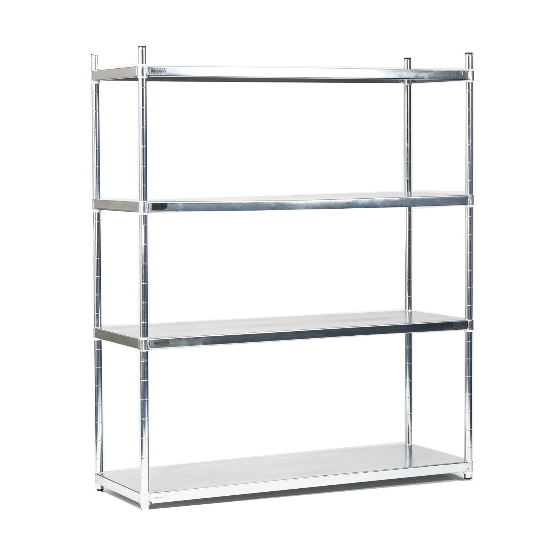 4 tier stainless steel solid quartermaster starter bay. Black Bedroom Furniture Sets. Home Design Ideas