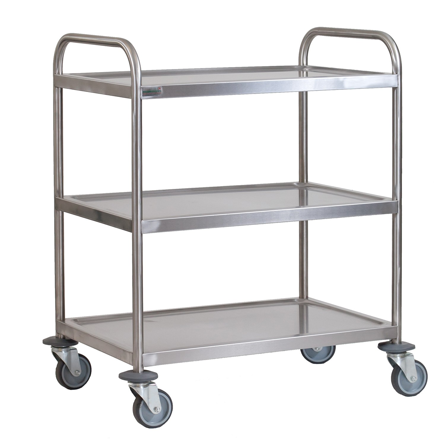 Kitchen Trolley Accessories: Stainless Steel 3 Tier Trolley Small